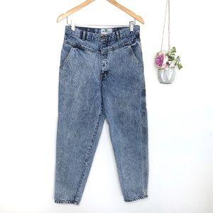 Vintage 80's Palmetto Acid Wash High Waist Jeans